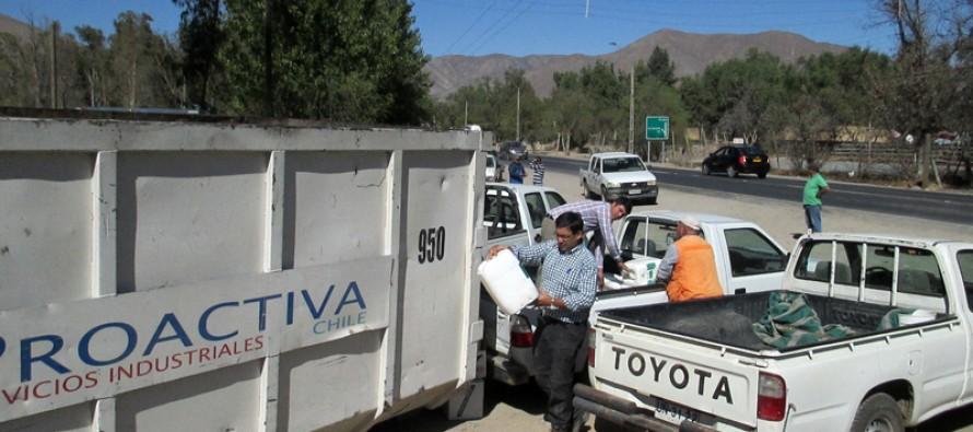Vicuña es destaca a nivel nacional por recolección de envases fitosanitarios