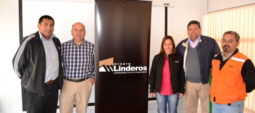 Minera Linderos firma importante protocolo  de colaboración con ACHS