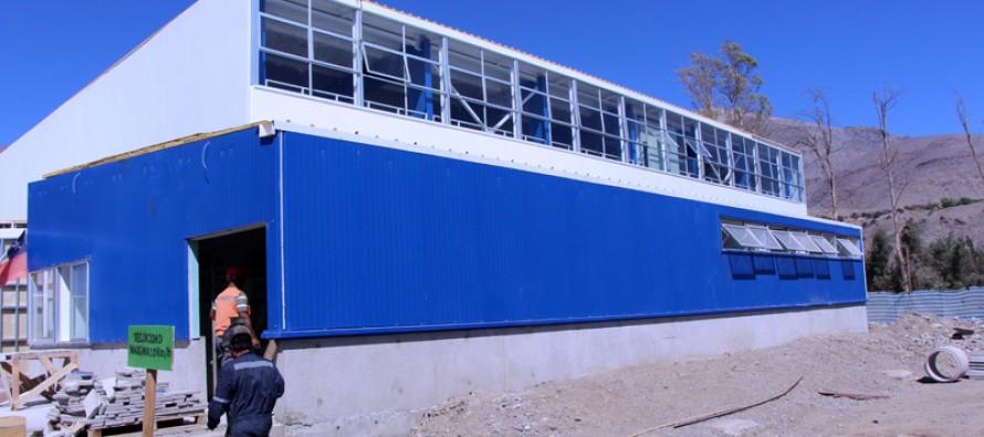 A la espera de la entrega del Polideportivo de Vicuña se busca un nombre para el recinto