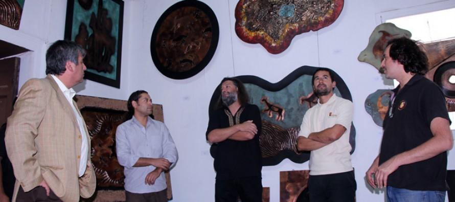 Raíces Primitivas del Cobre Chileno se expone en la Casa de la Cultura de Vicuña