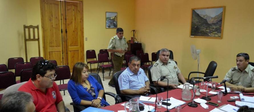 Municipalidad de Paihuano y Carabineros trabajan en conjunto para la seguridad comunal