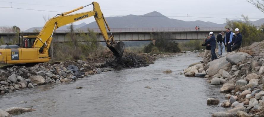 Destacan trabajo en obras por la sequía y la inversión en Agua Potable Rural en gestión del MOP