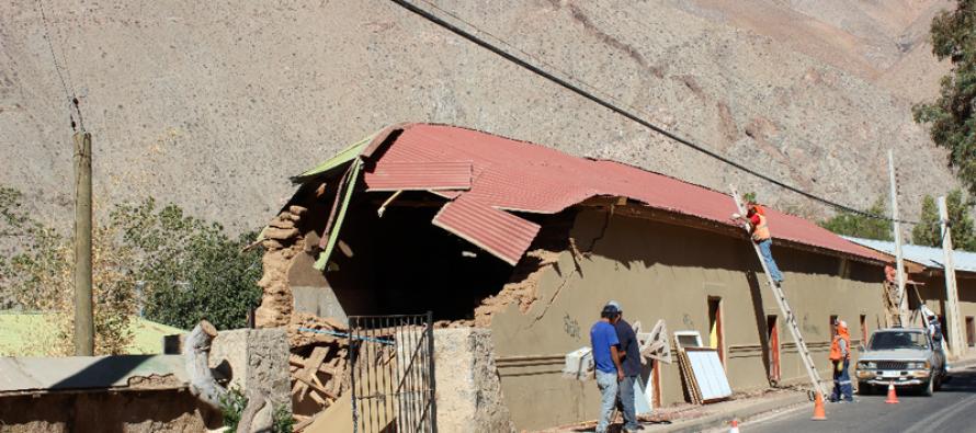 Demolición de patrimonial casona en Pisco Elqui genera molestia en autoridades y vecinos