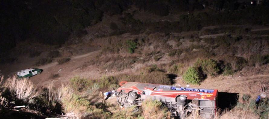 Tres personas elquinas fallecidas y siete heridos graves deja accidente en La Ligua