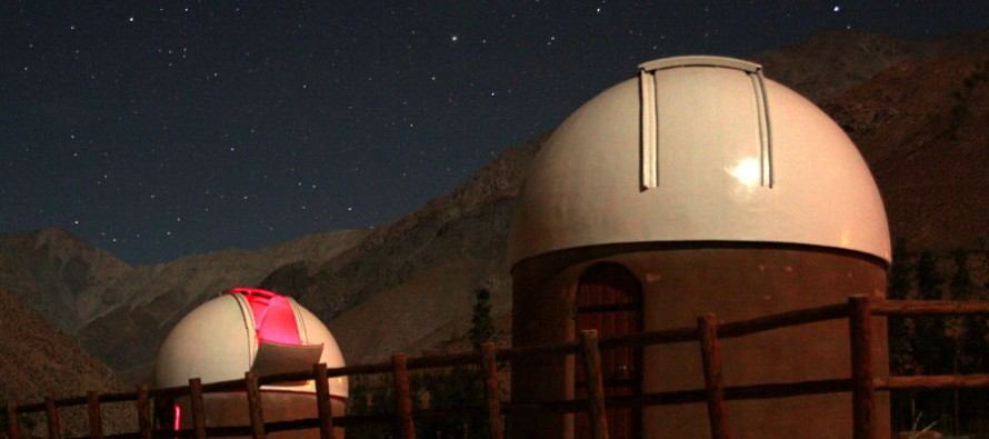 Valle del Elqui se prepara para el próximo eclipse total de luna del  martes 15 de abril