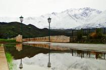 LLuvias y nieve en el valle