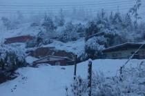 La nieve se apodera del Valle del Elqui