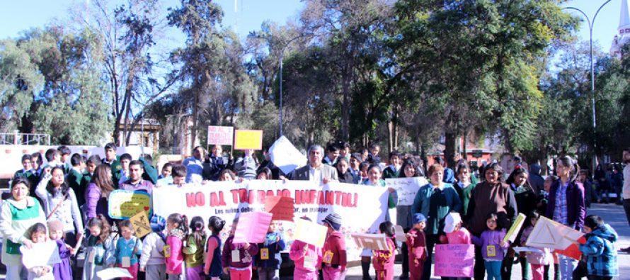Invitan a los vicuñenses a participar de marcha contra la explotación sexual infantil y adolescente