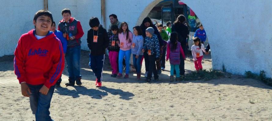 """Primera jornada de """"Vacaciones por un día"""" se vivó con éxito en la ciudad de La Serena"""