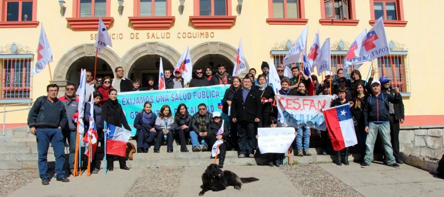 AFUSAM presenta solicitud de demandas en Intendencia y Servicio de Salud Coquimbo
