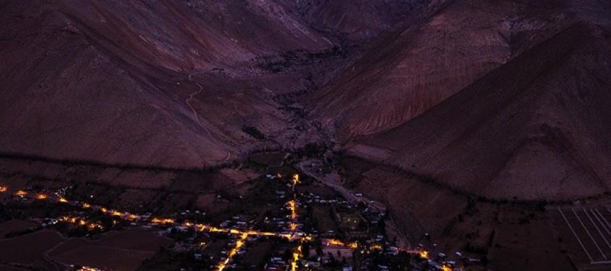 Realizan gran operativo para analizar estado de alumbrado público en Paihuano