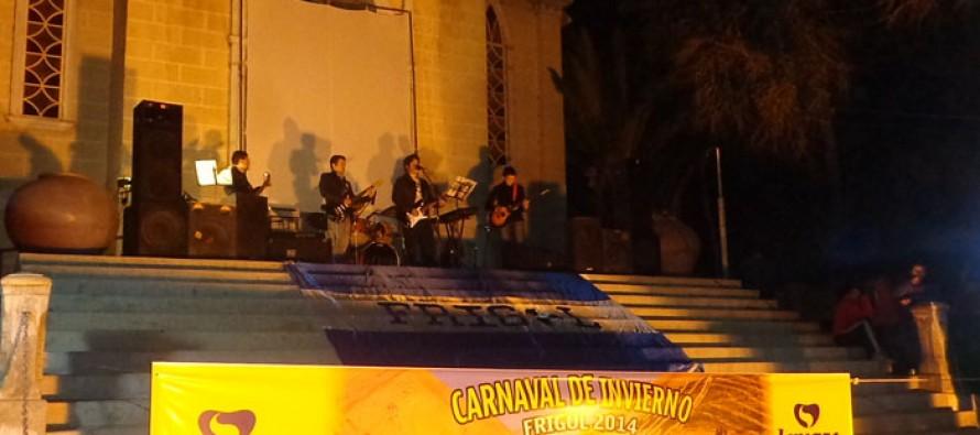 "Con show musical Pisco Elqui inició Carnaval de Invierno ""Frigol"" 2014"