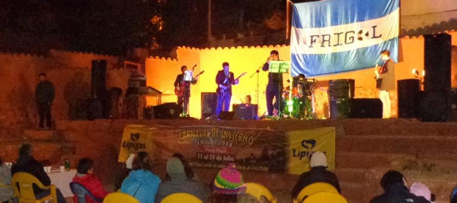 Pisco Elqui tuvo su noche de rock con encuentro de bandas locales
