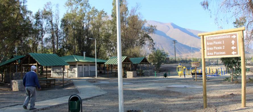 Parque Los Pimientos espera resolución sanitaria para ser entregado a la Corporación de Turismo