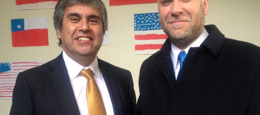 Vocero de Gobierno y alcalde Vera planifican futura visita de la presidenta a Vicuña