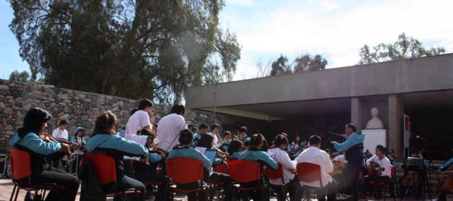 Música y alegría infantil en el Concierto de Mediodía del Museo Gabriela Mistral