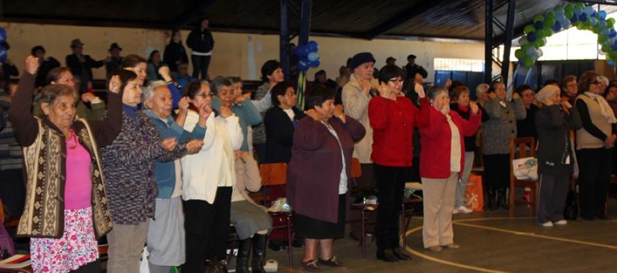 Estudiantes de Enfermería de la ULS realizaron las XIII Jornadas del Adulto Mayor en Vicuña