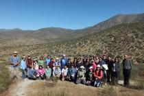 En Quebrada de Talca profesores participaron en caminata de educación ambiental