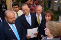 CORE entrega propuestas para sequía y descentralización a Presidenta de la República