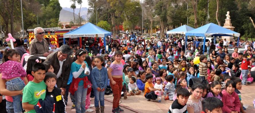 Grandes sorpresas y actividades se vivirán en la celebración del Día del Niño en Vicuña