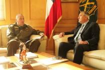 Saldívar respaldó proyectos de mejoramiento de infraestructura de Carabineros en Vicuña
