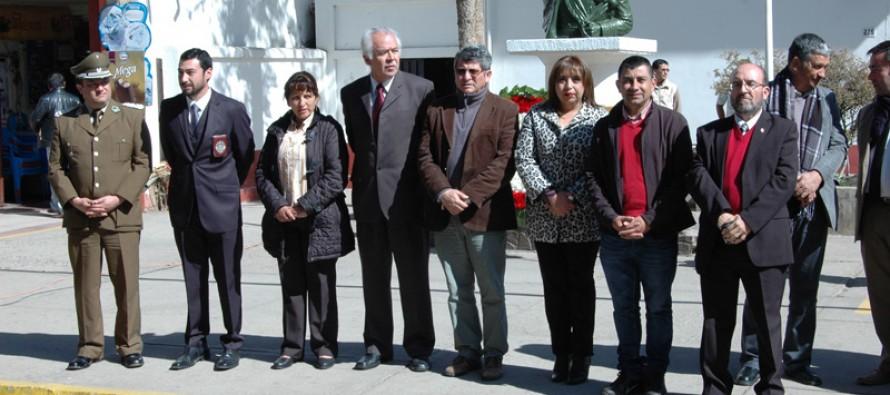 Ciudadanía de Vicuña conmemora a Bernardo O´Higgins en su aniversario 236 del natalicio