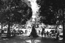 Recuerdo de plaza de Vicuña