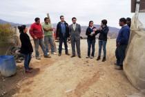 Fiscalizan toma de terrenos en Quebrada de Leiva en Calingasta