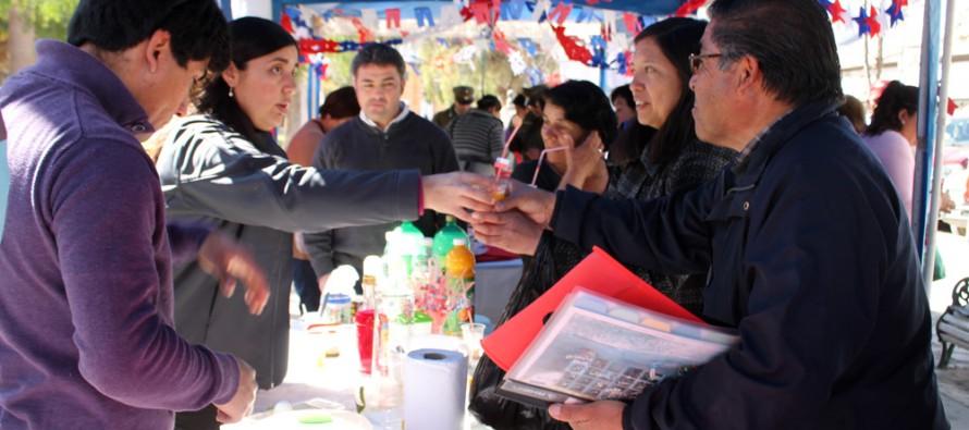 Con ramada preventiva inician actividades de Fiestas Patrias