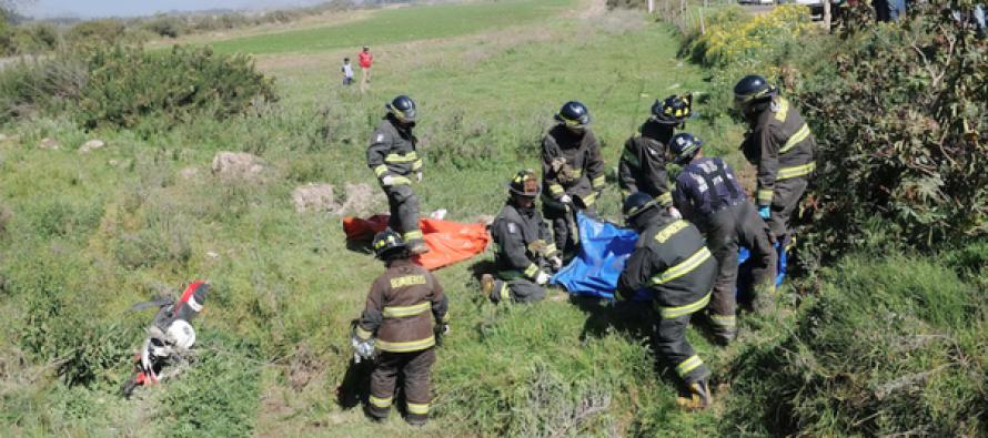 Altovalsol: Accidente en motocicleta en la Ruta Internacional D-41 deja una nueva víctima fatal