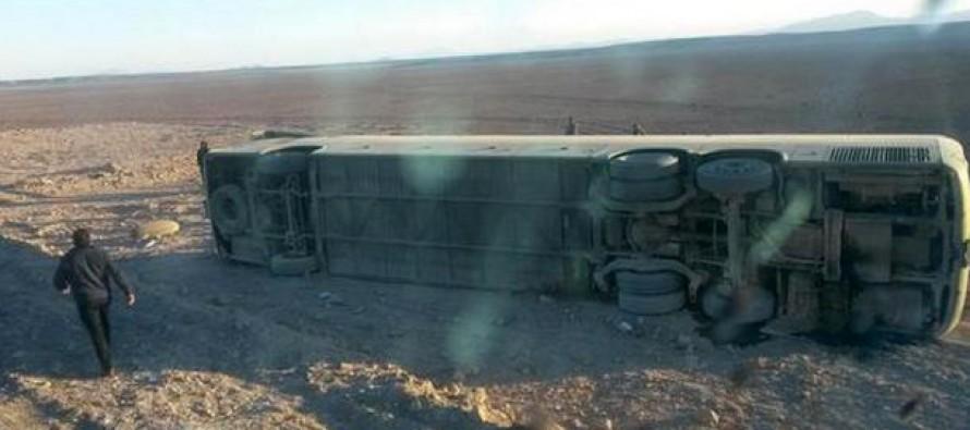 Pasajero de Pisco Elqui muere en volcamiento de Tur Bus en recorrido Coquimbo – Antofagasta