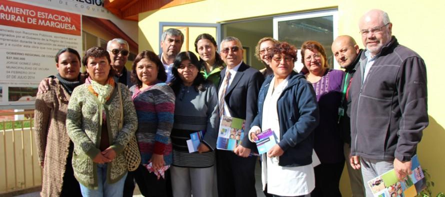 Una cifra superior a los 90 millones de pesos se invirtieron en 4 EMR de la comuna de Vicuña
