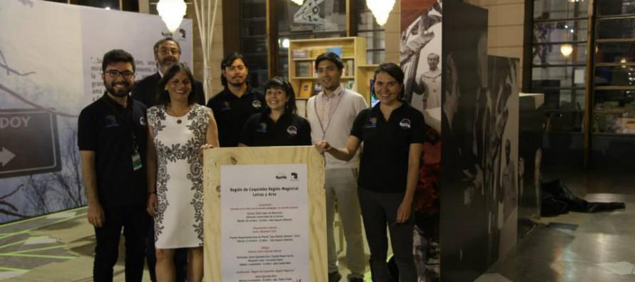 Comenzó la presencia regional en la Feria Internacional del Libro de Santiago 2014