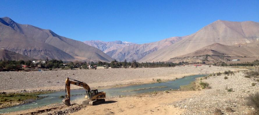 Regantes y agricultores del Elqui solicitaron retomar encauzamiento de ríos