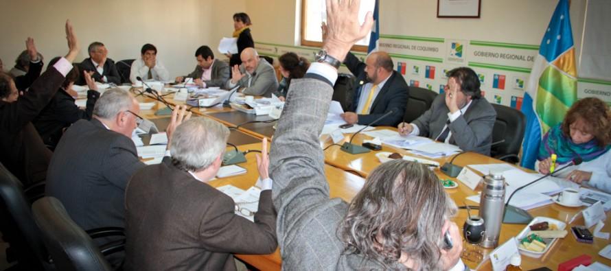 Consejo Regional aprueba millonaria cartera de proyectos