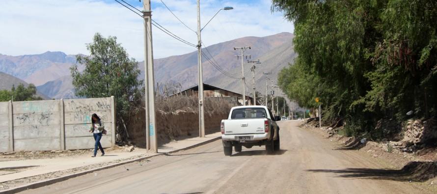 Anuncian pavimentaciones en ingresos del sector urbano y rural de Vicuña a través del MOP