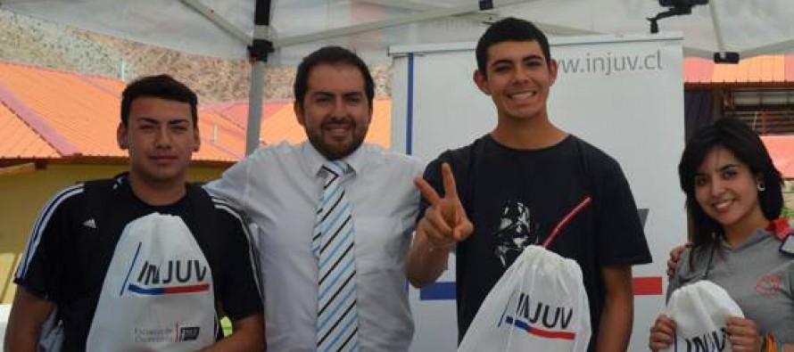 INJUV y Municipio de Paihuano trabajan en conjunto para capacitar a jóvenes de la comuna