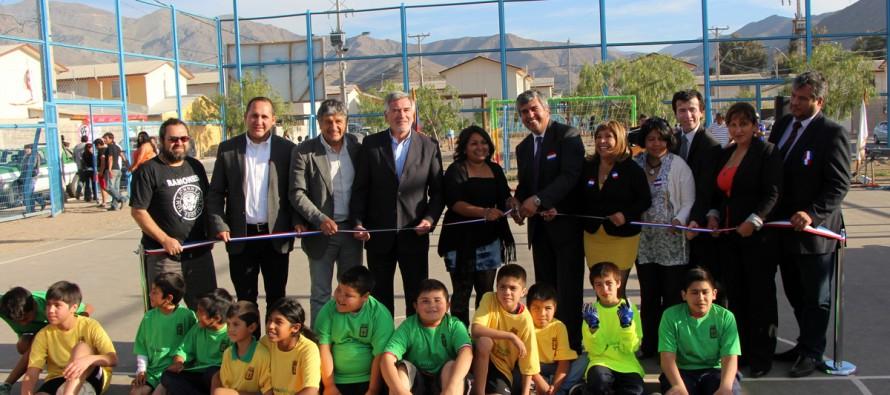 El Arenal y Villa Esperanza cuentan con nuevas dependencias para desarrollar el deporte