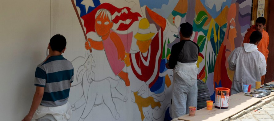 Escuela Gabriela Mistral de Montegrande inicia actividades de aniversario