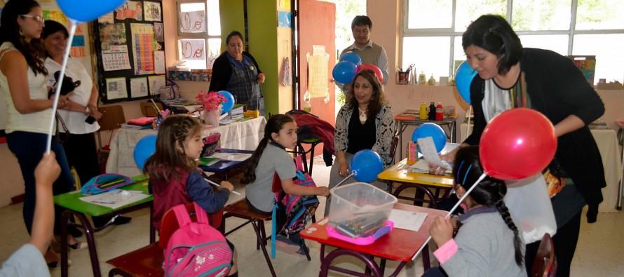 SENAME realiza actividades de aniversario en Escuela Gabriela Mistral de Montegrande