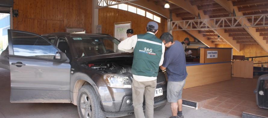 SAG hace llamado a no ingresar productos de origen  vegetal o animal a través de pasos fronterizos