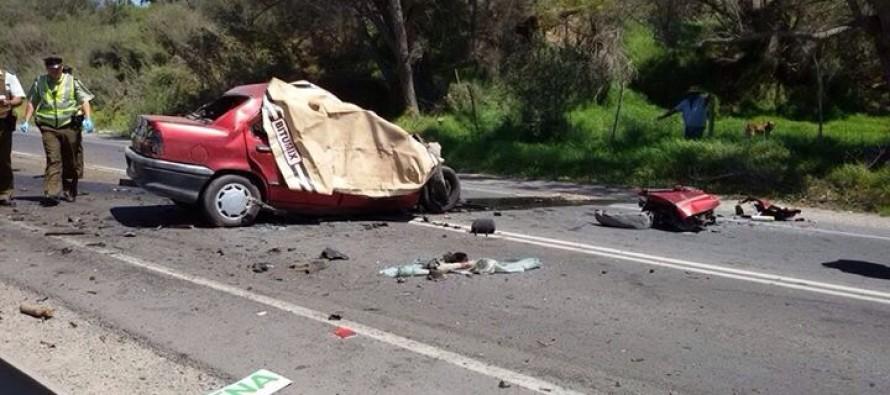 Nuevo accidente en la Ruta Internacional D-41 deja a dos personas fallecidas