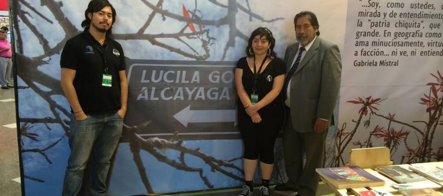 Música y literatura de la zona fueron parte de la Feria Internacional del Libro de Santiago