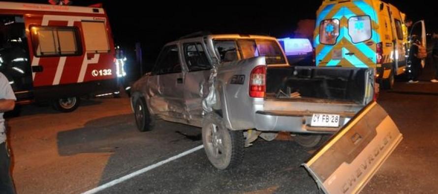 """Ceres: Una persona fallecida en accidente de """"Sol de Elqui"""" con camionera en Ruta D-41"""