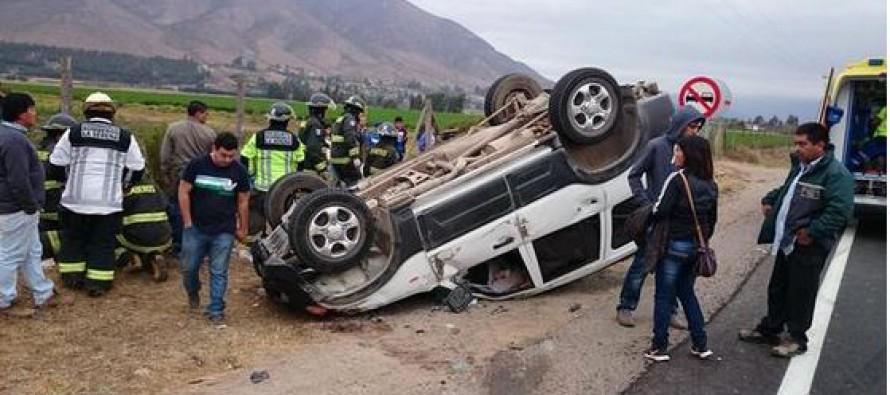 El Rosario: Nuevo accidente en la Ruta Internacional D-41 deja a seis heridos