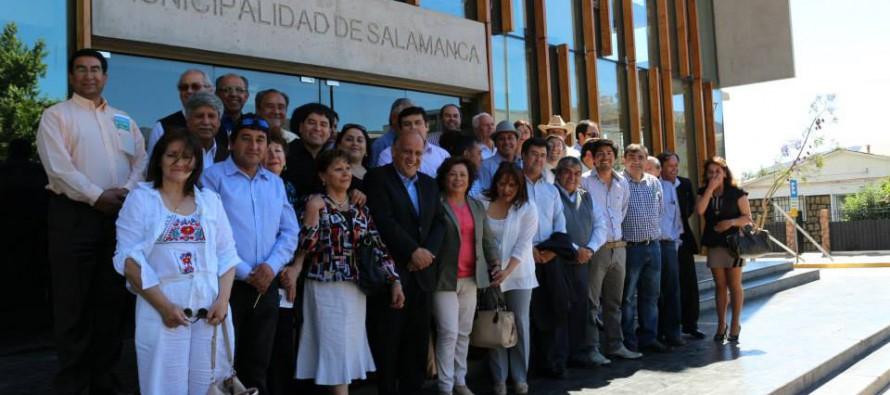 Concejales de Paihuano participan en 3º  congreso regional  desarrollado en Salamanca