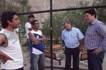 Priorizan proyectos deportivos para Quebrada de Pinto a través del IND