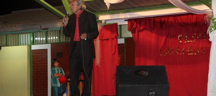 Héctor Muñoz fue el ganador del Primer Festival de la Voz de Marquesa