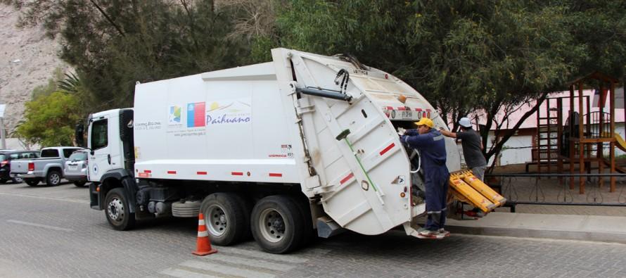 En diciembre comienza nueva programa de recolección de basura en Paihuano