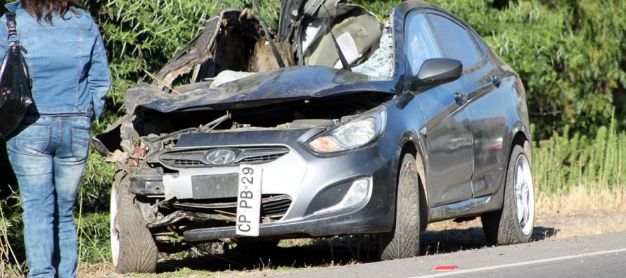 Joven vicuñense fallece en accidente de tránsito en Ruta D-41 producto de cruce de equino